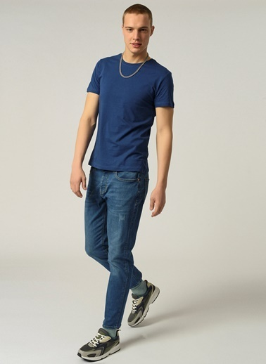 People By Fabrika Erkek  Jean Pantolon PFESS21JP0005 Mavi